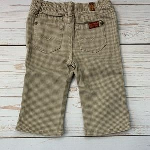 7 For All Mankind Matching Sets - Baby Boy 6-9 Month Fall/Winter outfit